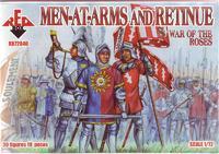Фигурки воинов с оружием и кортеж. Война роз