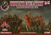 Британская пехота 1745 года. Восстание якобитов