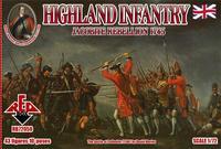Горная пехота 1745 года. Восстание якобитов