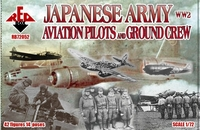 Пилоты и наземный персонал армейской авиации Японии 2МВ
