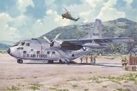 Военно-транспортный самолет Фэйрчайлд C-123 Б «Провайдер»