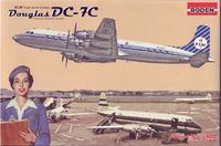 Пластиковая модель самолета Douglas DC-7C KLM