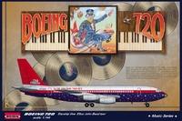 Авиалайнер Boeing 720 Elton John tour