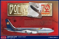 Авиалайнер Boeing 720 'Колесница цезаря' Лед Зеппелин тур по Северной Америке