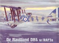 Пластиковая модель самолета Havilland DH4 w/RAF3a