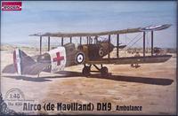 Самолет Де Хавиленд D.H.9/De Havilland (скорая помощь)