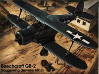 Модель самолета Beech GB-2 (Traveller)