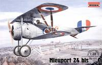 Модель самолета Ньюпорт 24 бис
