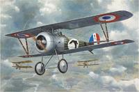 Склеиваемая модель самолета Ньюпорт 24