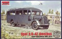 Сборная модель автобуса Opel Blitz Omnibus W39
