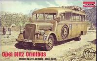 Немецкий штабной автобус Opel Blitz Omnibus W39, Африканский корпус