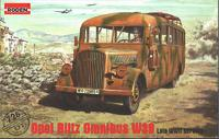 Модель автобуса Opel Blitz Omnibus W39