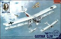 Германский биплан-бомбардировщик Gotha G.IV