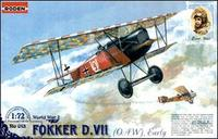Истребитель-биплан Fokker D.VII OAW (early)