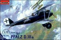 Германский истребитель-биплан Pfalz D.IIIa