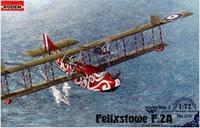 Британская истребительно-разведывательная летающая лодка Felixstowe F.2A (ранний выпуск)