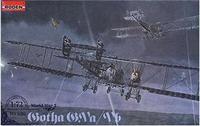 Германский биплан-бомбардировщик Gotha G.V ab