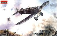 Истребитель  Junkers D.1 WWI German fighter