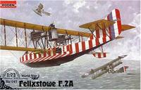 Летающая лодка Felixstowe F.2A w/upper wing gunner position