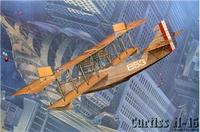 Истребитель-биплан Curtiss H-16 US NAVY aircraft
