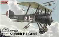 Истребитель-биплан Sopwith F.I Camel (w/ Bentley)