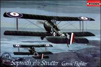 RN407 Sopwith 1 1/2 Strutter comic fighter