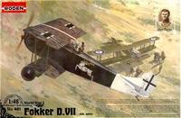 RN421 Fokker D.VII, Alb early