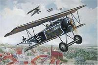 RN603 Fokker D.VI WWI German fighter