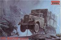 Немецкий полугусеничный грузовой автомобиль Opel Blitz Maultier