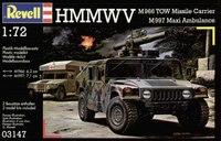 Военные автомобили HMMWV М 966 и М 997