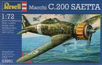Итальянский истребитель Macchi C200 Saetta