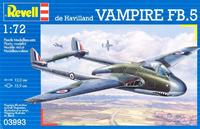 Истребитель Vampire (Вампир) Mk.I RAF
