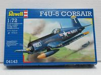 Сборная стендовая модель самолета F4U-5 Corsair