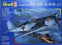 Сборная модель самолета Focke Wulf Fw 190A-8/R-11