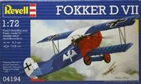 Скоростной истребитель Fokker D VII