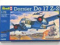 Пластиковая модель для склеивания Dornier Do 17Z