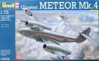 Реактивный истребитель Глостер Метеор Mk.4(Gloster Meteor)