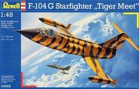Пластиковая модель для склеивания Lockhed F-104G Starfighter Tiger Meet