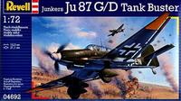 Пластиковая модель для склеивания Юнкерс Ju 87 G/D Tank Buster