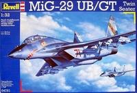 Учебно-боевой истребитель MiG-29 UB/GT twinseater