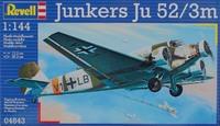 Пассажирский самолет Junkers Ju52/3m