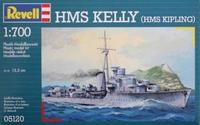 Британский легкий крейсер H.M.S. Kelly