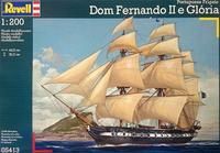 Парусный фрегат Portuguese Fregate 'D. Fernando II e Gloria'