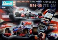 """Подарочный набор с автомобилями Vodafone McLaren Mercedes MP4-25 """"Hamilton и Button"""""""