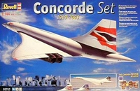 Подарочный набор с самолетом Concorde