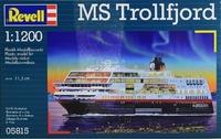 Корабль MS Trollfjord