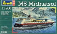 Корабль MS Midnatsol