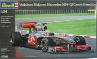 Автомобиль McLaren Mercedes MP4-25 Lewis Hamilton