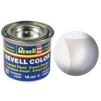 Краска Revell эмалевая, №02 бесцветная матовая (не кроющая)