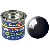 Краска Revell эмалевая, № 07 (черная глянцевая)